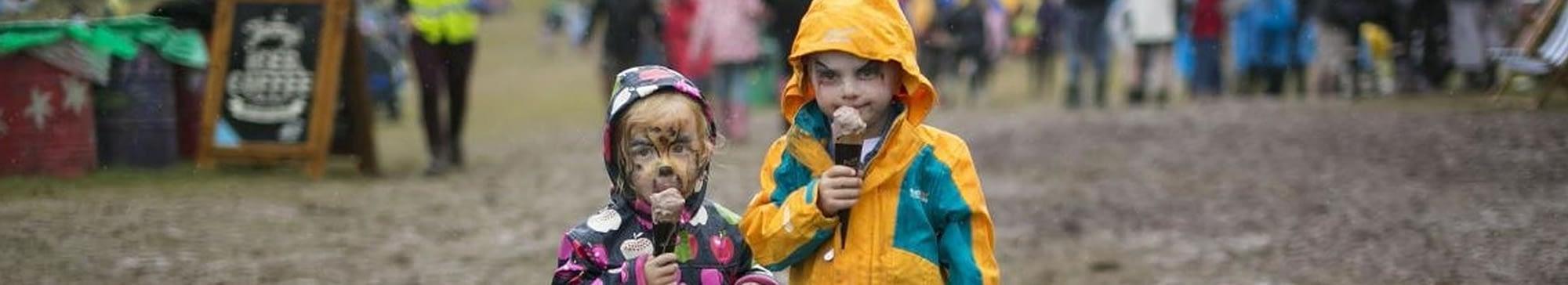 Children Enjoying Purbeck Ice Cream